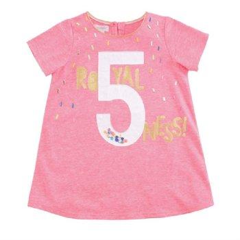 Neon Sprinkle Royal 5 Ness Birthday TunicBRNow