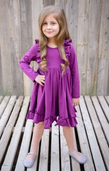 d7663f273f12 Plum Bella Swing Dress<BR>10 Years ONLY